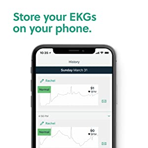 Store on your phone