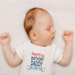 Happy Birthday Daddy Baby Girls Clothing