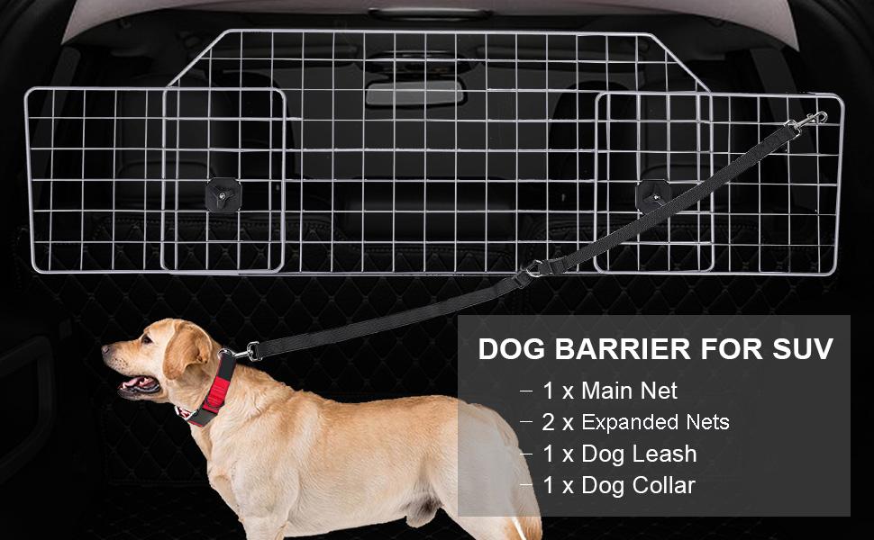 dog barrier for SUVs