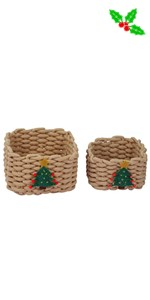 Christmas Storage Baskets