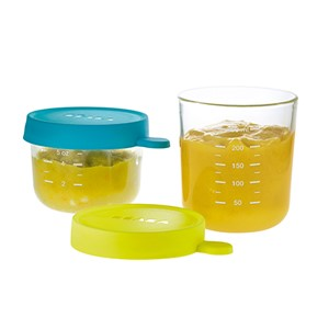 glass containers, glass food storage, beaba, babycook, baby food containers, puree containers