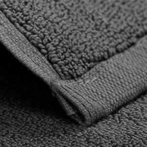 grey washcloth