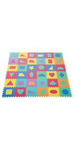 StillCool Puzzle 25 piezas Alfombra de espuma para beb/é con cercado muy resistente para ni/ños n/úmeros