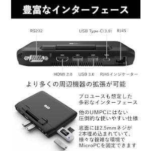GPD microPC 豊富なインターフェース
