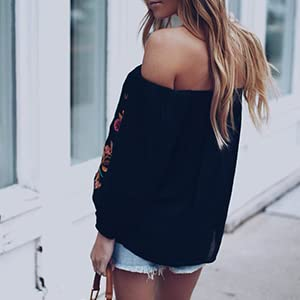sexy off the shoulder tops