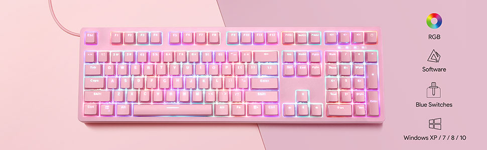 gaming mechanical keyboard mechanical keyboard gaming keyboard gaming keyboard pink keyboard