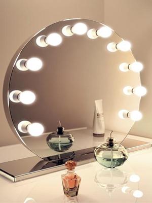 Toiletttafel Spiegellampen
