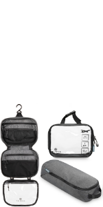 toiletry set, toiletry bag set, toiletry bag kit set, 311, toiletry for airline