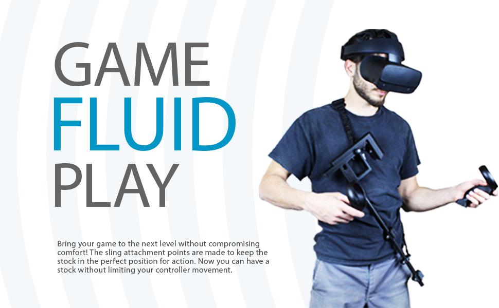 VR controller gun stock oculus