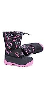 Big kid outdoor snow boots