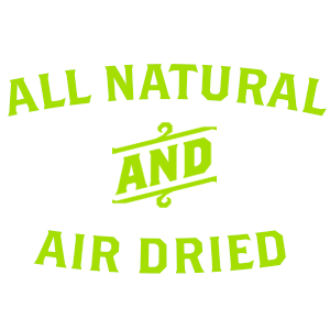 ALL NATURAL, AIR DRIED