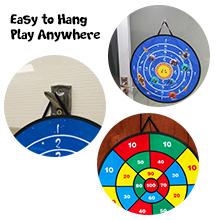 kids toy fabric dart board