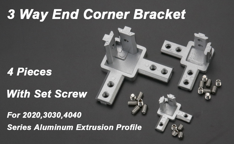 3-Way End Corner Bracket