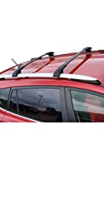 Amazon Com Brightlines Aero Roof Rack Cross Bars Compatible With Toyota Rav4 2013 2018 Automotive