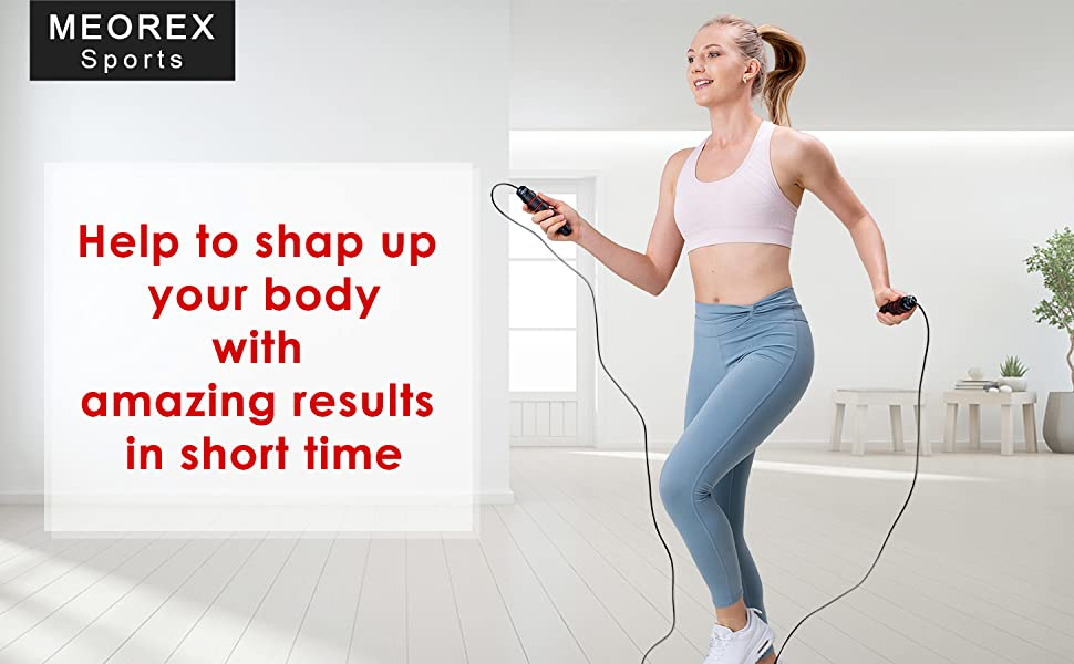Exercise and Fitness Skipping Rope adult