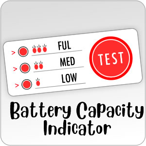 Battery capacity indicator