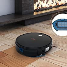 SuperChef Robot Aspirador SF425 CleanPro WiFi, App, Compatible con ...