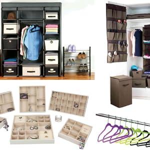 closet storage organization