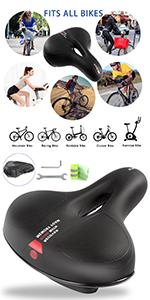 Selle de Vélo Ultra Confortable