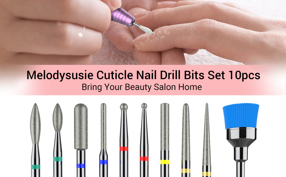 Nail Drill Bit Cleaning Brush Dust Remover Nail Art Tools Design Clear Brush UK
