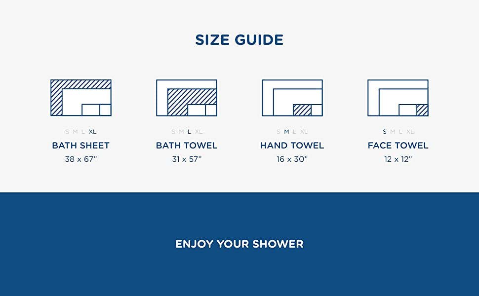 Towel Size Guide