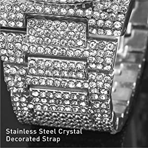 crystal watch for men