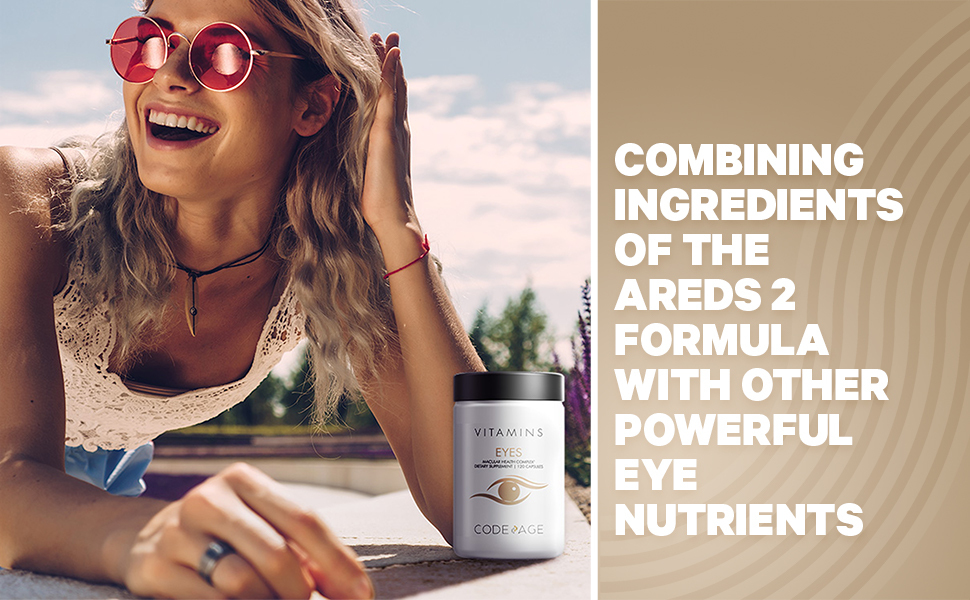 Codeage - Eye Macular protection proprietary blend