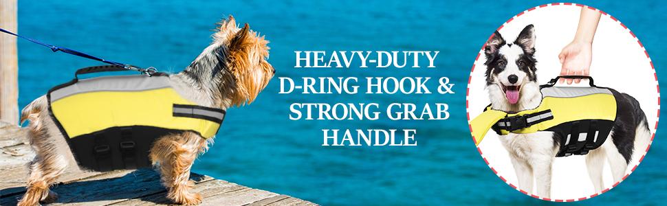 Dog Life Jacket for Swimming