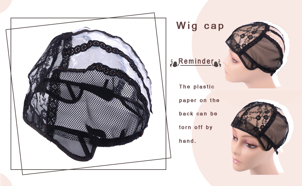 Wig Caps for Making Wigs with Elastic Band on the Back Easy Weaving Wig Caps with Plastic