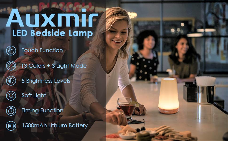 Auxmir LED Bedside Night Light