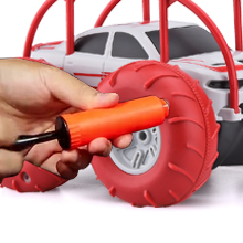 Tire pumping
