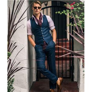 mens fashion suit vest