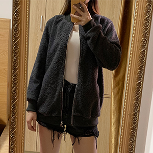 fashion  fleece jacket