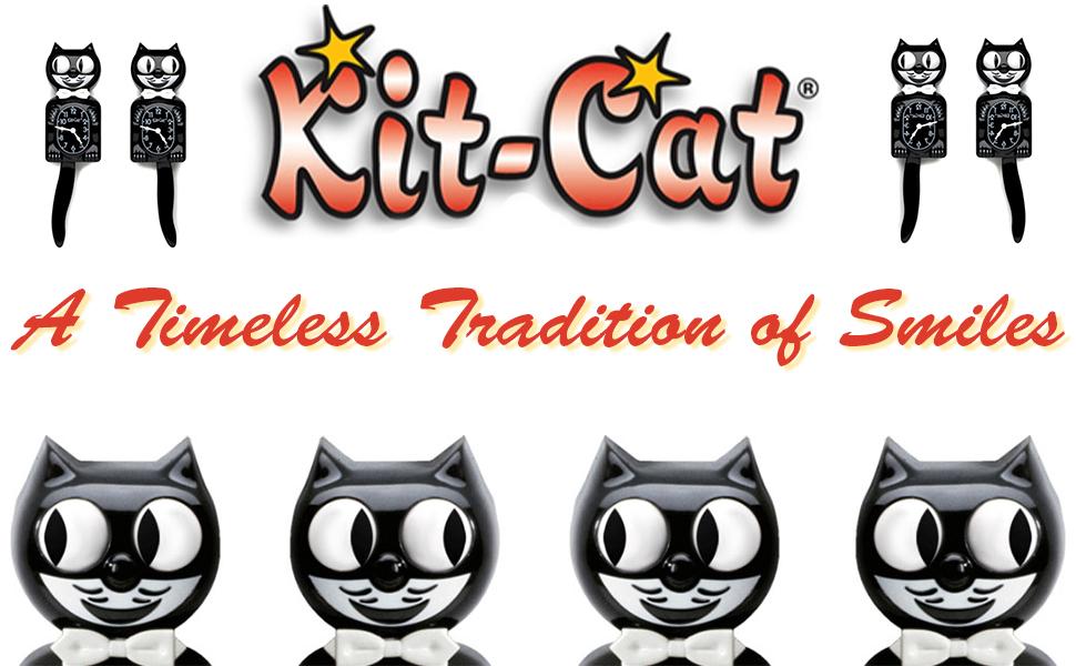 kit cat klock clock