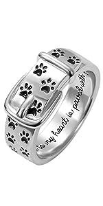 Dog Paw Rings