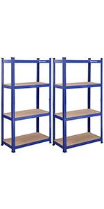 Opbergrek - 160 x 80 x 40 cm - blauw