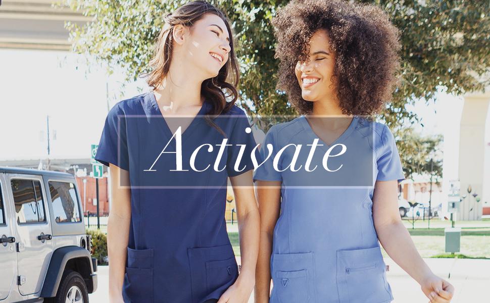 scrubs womens scrub cute fashion scrubs coture couture nurse uniform for women ladies uniforms