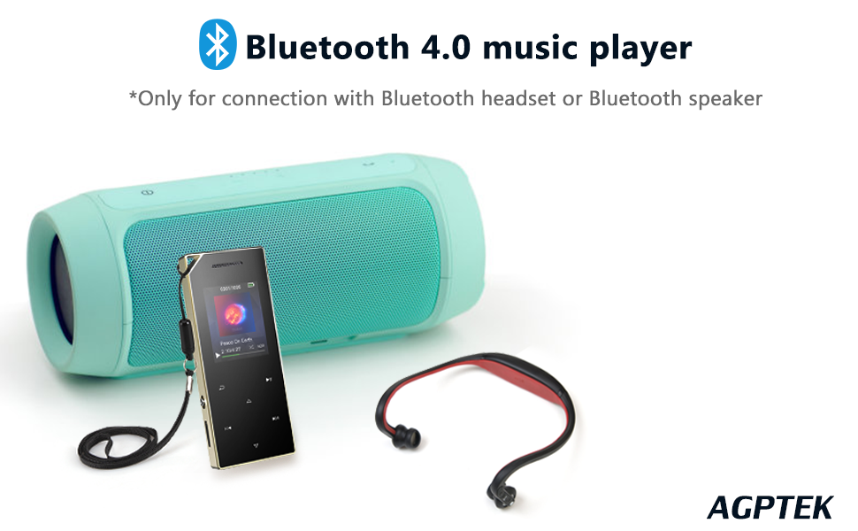 16gb player with bluetooth