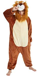 Lion Onesie for Kids