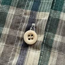 Material Button Y Shirt