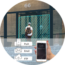 smart camera with motion detection