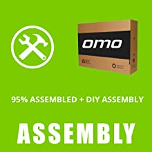 omobikes assembly , OMO bikes assemble , model 1.0 assembly , hybrid cycle assembly