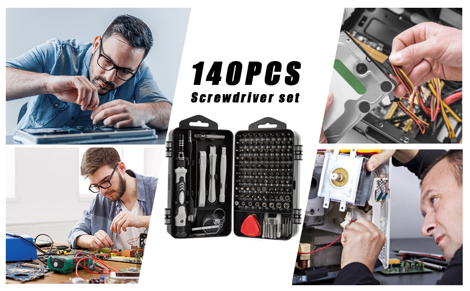 craftsman 9-31794 slotted phillips screwdriver set, 17 piece jegs 69-pc magnetic screwdriver set