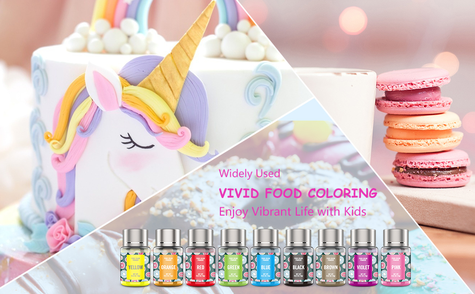 all nature food coloring powder
