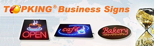 TOPKING LED Business Signs