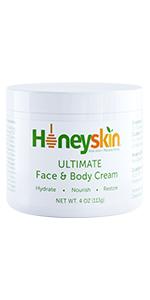 honeyskin ultimate face and body cream original