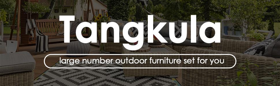 Tangkula outdoor furniture set