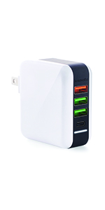 usb spleater charger quick charge 3.0 fast charge