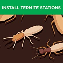 Termite, Bait Station, Install, auger, digger