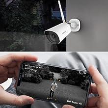 4MP Super HD Video & Night Vision